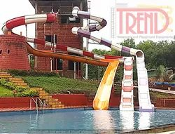 Open And Close Body Water Slide