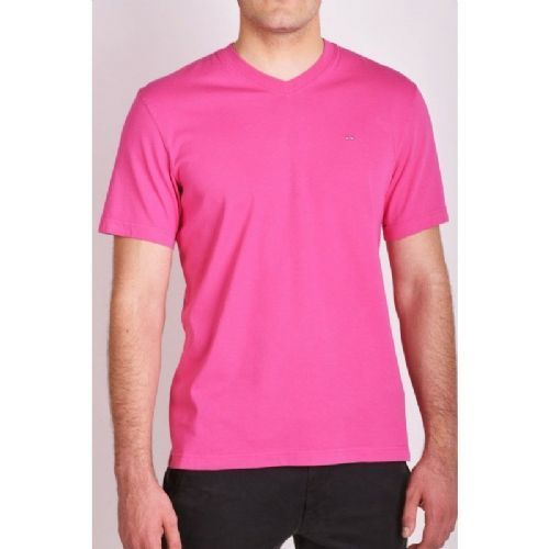 2f8466ad Mens Cotton Pink Plain T-Shirt, Size: S To XL, Rs 250 /piece | ID ...