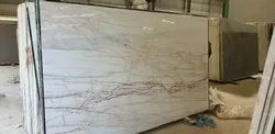 White Lobbies Golden Spider Marble, Thickness: 18 mm, Application Area: Flooring