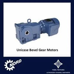 Bevel Helical Gear Motors - Unicase