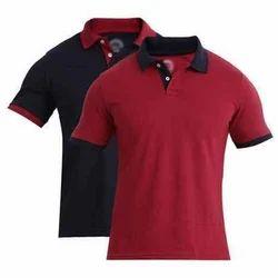 Nexon Cotton Collar T Shirt