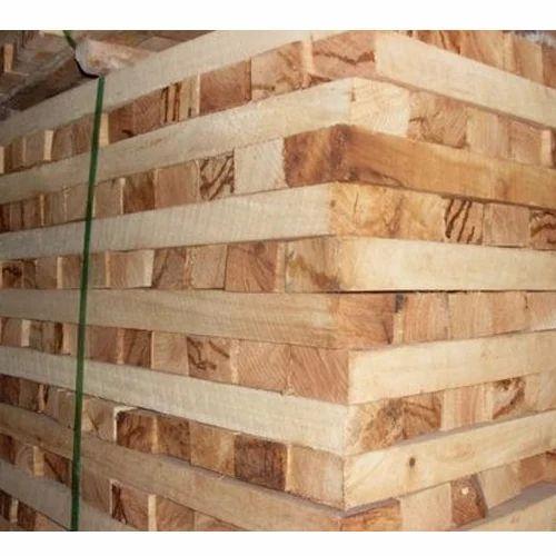 Natural Wood Colour(Brown) Rubber Wood RSKD (Rough Sawn Kiln Dried)