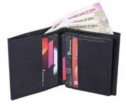 Black Leather Mens Wallets