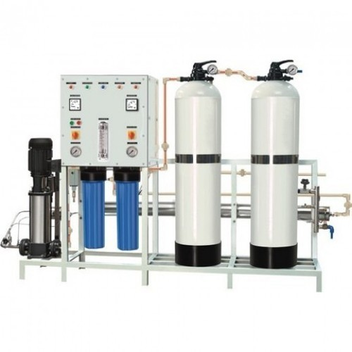 Semi Automatic RO Water Plant, 2