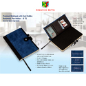 Premium Notebook With Card Holder, ( Diaries )