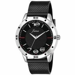 Jainx Black Mesh Band Analog Watch for Men's - JM369