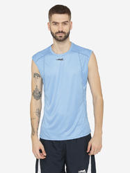 Men Polyester Sleeveless tee