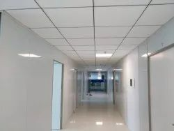 White False Ceiling Works