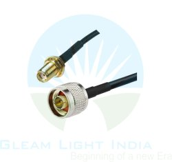 RF Cable Assemblies N Male to SMA Female in RG 174