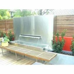 Stainless Steel Decorative Water Fountain