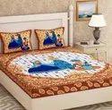 Jaipuri print cotton bedsheet