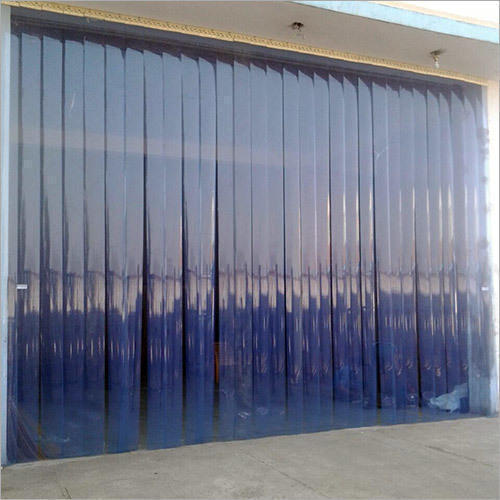 Transparent Pvc Strip Air Curtain Thickness 1 0 Mm Rs