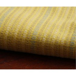 Yellow Base Table Linen Fabric, GSM: 50-100, Packaging Type: Roll