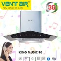 KING MUSIC 90 Ventair Musical Chimney
