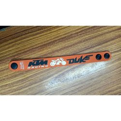 Promotional PVC Wristband, Packaging Type: Packet
