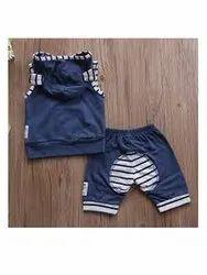 Organic linen Kids shorts set