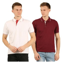 Mens Collar Neck T-Shirt