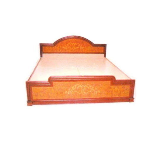 Standard Simple Wooden Bed