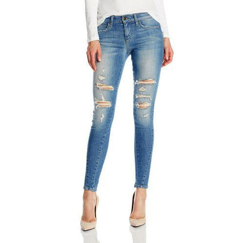 2fa18268e30c35 Comfort Stretchable Ladies Ripped Jeans, Rs 599 /piece, Ababil ...