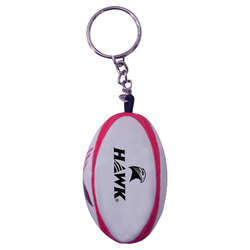 Key Ring With Rugby Ball