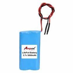 Lifepo4 Battery 3.7V 3000 Mah