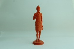 Polyamide (PLA) End Product Statue 3D Printing Service, in Pan India