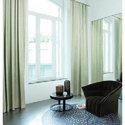 Plain Designer Bedroom Curtain, Size: 7 Feet