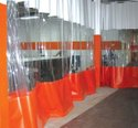 Spray Painting Curtain Blinds