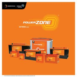 Powerzone Truck Dry Charged Battery, Voltage: 12 V