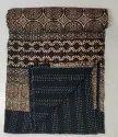 Handblock Ajrakh Bedcovers