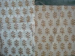 Metallic Prints Fabrics