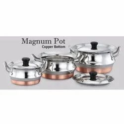 Copper Bottom Magnum Pot Set