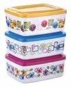 Rectangular Plastic Storage Food Containers