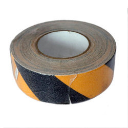Yellow and Black Zebra Tape Floor Marking Tape