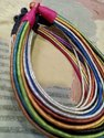 Silk Arcadian Crafts Multi Strand Necklace