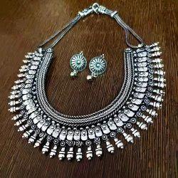 Silver Oxidized Necklaces