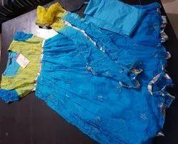 Chiffon Formal Wear Three Pieces Designer Suit