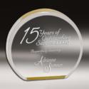 Round Designer Acrylic Trophy