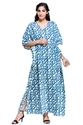 Block Printed Cotton Kaftan