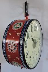 Hand Painted Double Sided Clocks