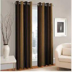Living Room Plain Curtain, Size: 7 To 9 Feet Length