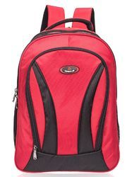 Red Galileo Large School Backpack Bag