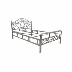 Designer Stainless Steel Single Bed