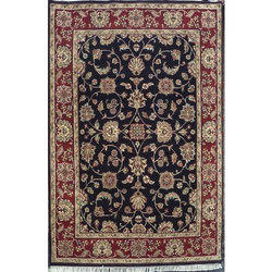 Rectangular Hand-Knotted Carpet
