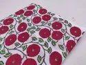 MEERA'S Hand Block Printed Cotton Fabric