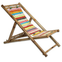 Deck Chair In Bamboo