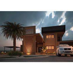 Contemporary 3D Architectural Home Design Service
