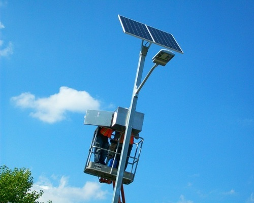 Solar Street Light Installation Services in Chhatrasangh