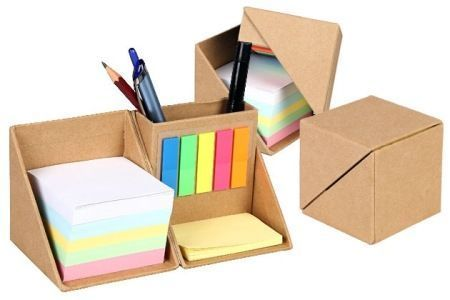 Multicolor Eco Friendly Stationery Cube