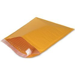 Yellow CD Air Bubble Envelopes